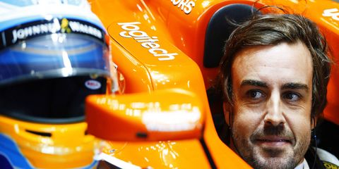 Fernando Alonso competed in the 2017 Indianapolis 500, and was named Rookie of the Year.