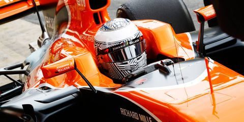 Fernando Alonso's McLaren MCL32 Honda could be his final ride before electing free agency at the end of the season.
