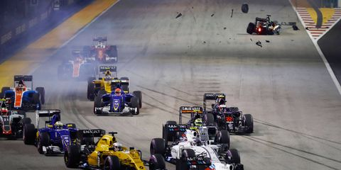 Many fans want more action -- and more crashes -- at the starts of Formula 1 races, says Toro Rosso's team boss.