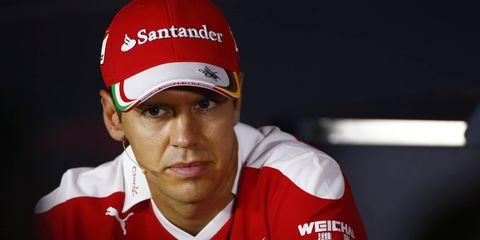 Ferrari driver Sebastian Vettel likes his team's chances at Monza.