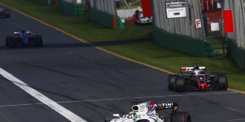 F1 veteran Felipe Massa believes the drag reduction system is the only thing allowing drivers to pass this season.
