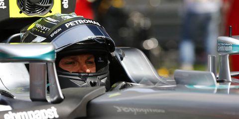 Nico Rosberg will go for his fourth consecutive win of the season.