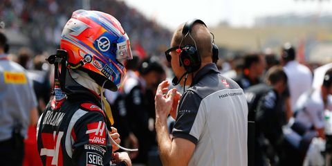 After finishing in the F1 points at both Australia and Bahrain, Romain Grosjean stumbled in China.