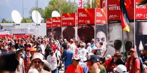 Increased fan access appears to be one positive change in Formula 1 under new leadership.
