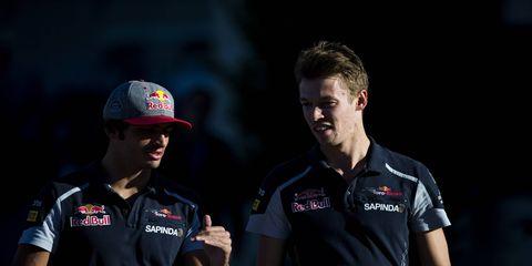 Carlos Sainz Jr. and Daniil Kvyat will remain teammates in 2017 at Toro Rosso.