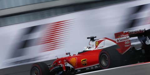 """Formula One driver Sebastian Vettel say's it's """"simply too early"""" to concede the championship to Nico Rosberg."""