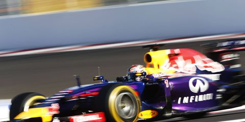 Sebastian Vettel, shown, is now watching his younger brother, Fabian, start his racing career.