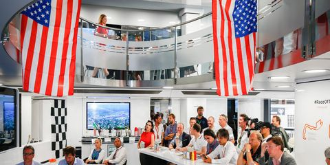 There is a growing American flavor to Formula 1 these days. The series has an American ownership group, and on Sunday in Monaco, the McLaren hospitality area was glued to the Indy 500.