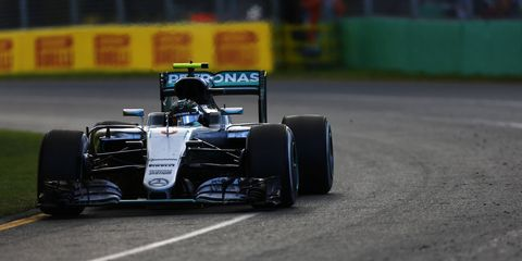 Nico Rosberg won in Melbourne and is hoping that success leads to more victories.