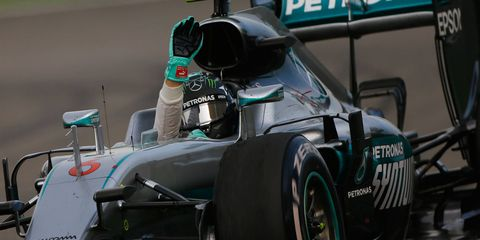 Nico Rosberg extended his lead in the Formula One points standings to a commanding 36 points over teammate Lewis Hamilton.