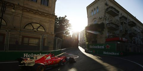 Sebastian Vettel is keen to stay at Ferrari but has yet to finalize a contract extension.