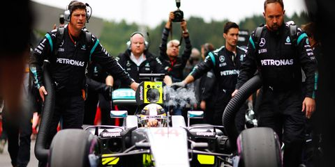Lewis Hamilton is not proving to be a good loser in Formula One.