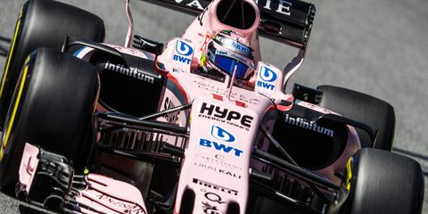 Sergio Perez is seventh in the F1 driver standings, while McLaren-Honda is scoreless in 2017.