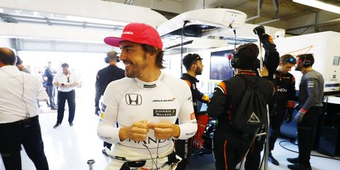 In addition to his extension with McLaren's F1 team, Fernando Alonso will also compete in the Rolex 24 at Daytona.