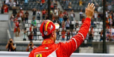 Sebastian Vettel is not waving goodbye to F1 anytime soon, he says.