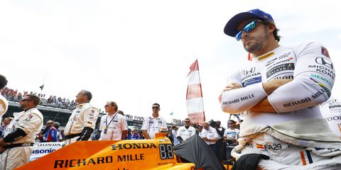 Fernando Alonso seems open to a second Indianapolis 500 attempt at some point.