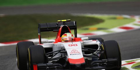Roberto Merhi traveled to Singapore this week fully expecting to be in the Manor car.