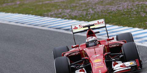Ferrari wanted Formula One to go to V8 power.