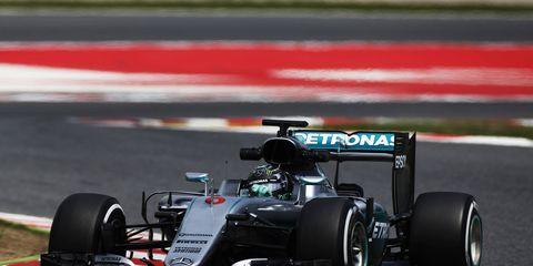 Mercedes chairman Niki Lauda dispelled rumors of Nico Rosberg moving to Ferrari in 2017.
