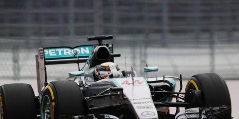 Lewis Hamilton won the Russian Grand Prix on Sunday.