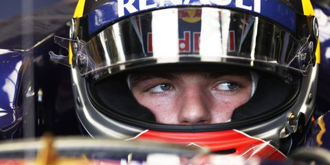 Max Verstappen is the youngest driver on the Formula One grid.