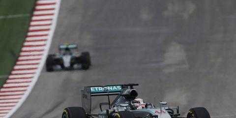 Lewis Hamilton won the United States Grand Prix on Sunday in Austin, Texas.