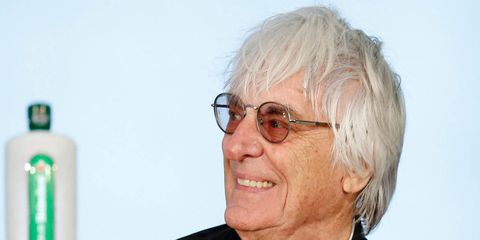 Bernie Ecclestone plans to miss the upcoming F1 race in Singapore to tend to business surrounding the sale of F1.