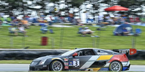 Johnny O'Connell (pictured) and Lawson Aschenbach both won titles in the Pirelli World Challenge on Saturday.
