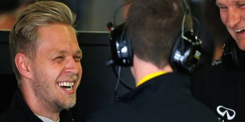 Kevin Magnussen has scored seven points with a pair of top-10 finishes with Renault in 2016.