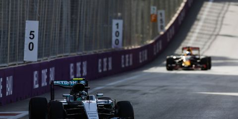 Nico Rosberg says Williams could be a significant threat in Austria.