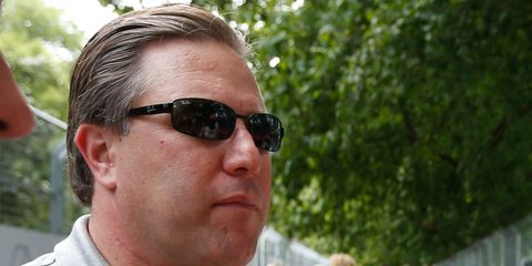 Zak Brown is the new executive director of the McLaren F1 operation.