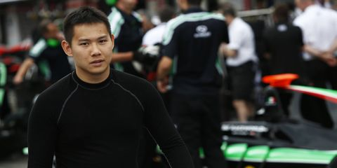 Adderly Fong failed to score a point in eight GP3 races last season.