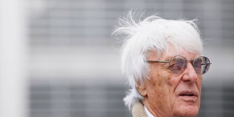 Bernie Ecclestone wants everyone to understand that he's still captain of the F1 ship.