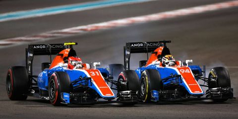 Manor F1 team took a major financial hit when the team failed to reach the top 10 in the Formula 1 Constructors' Championship.