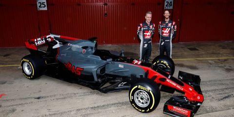 Haas F1 Team Reveals Aggressive Looking Vf 17 For 2017 Formula 1 Season