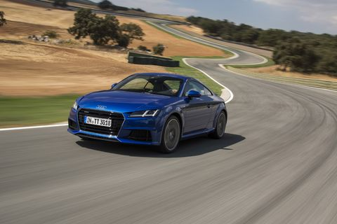 The 2016 Audi TT and TTS are a ways out, but we had the chance to preview the cars on a first drive through southern Spain.
