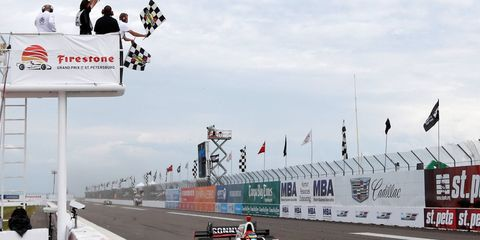 Sunday's victory was the 36th IndyCar win for Sébastien Bourdais.