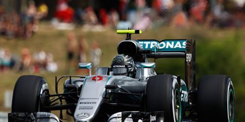 Nico Rosberg rolled to his fourth pole of the 2016 season on Saturday in Hungary.