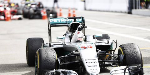 Lewis Hamilton to take a grid penalty at Monza.
