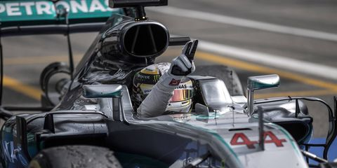 Lewis Hamilton knows he isn't quite a lock to win the F1 championship again.