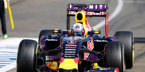 Renault and Red Bull Racing have had a rocky relationship this season.