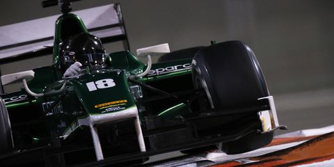 Caterham is still struggling to survive in Formula One.