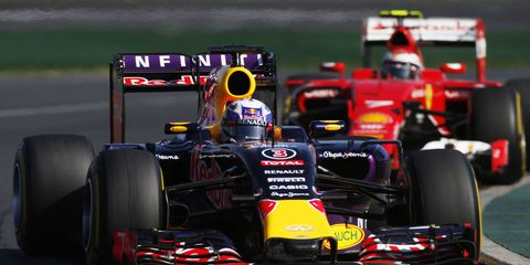 Red Bull Racing might be chasing Mercedes for some time on the Formula One circuit.