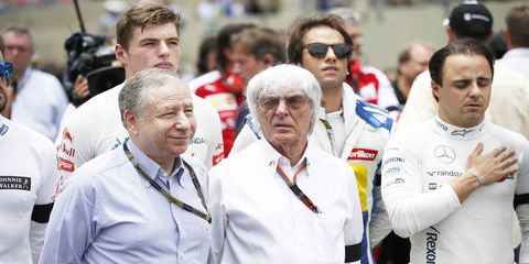 Bernie Ecclestone is siding with the drivers in the latest spat about F1 leadership.