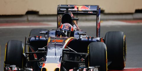 Daniil Kyvat has struggled in his return to Toro Rosso, scoring just one point in four races after being demoted by Red Bull.