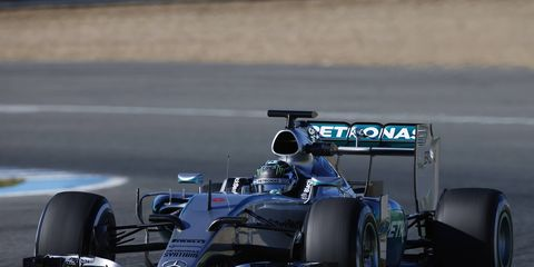 Mercedes, who tested on Sunday in Jerez, is working hard to avoid complacency after a dominant 2014.