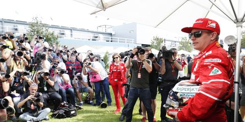 Kimi Raikkonen has the support of the Italian press and is favored to remain with Ferrari next season.