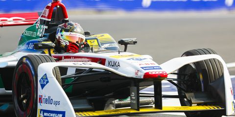 Daniel Abt started at the back of the pack following a 10-place grid penalty.