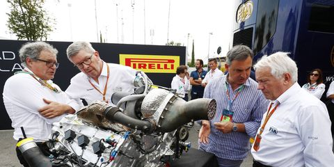 F1 is set to have new engine regulations next season.