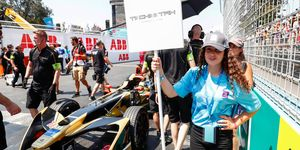Formula E used so-called grid kids this past weekend in Chile. Formula 1 plans to follow suit for its 2018 season.